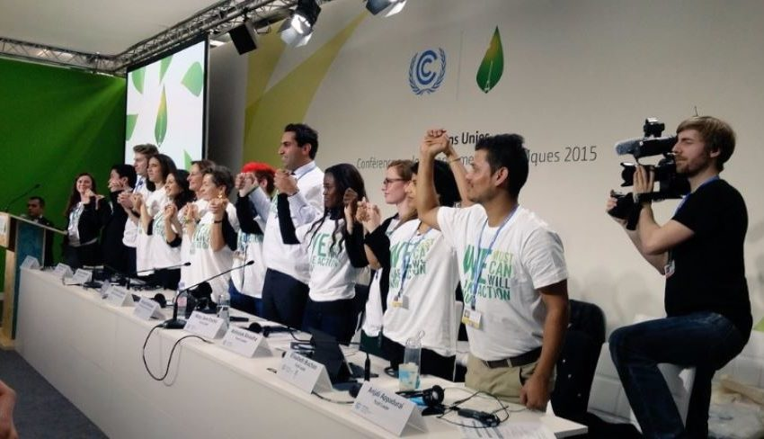 I giovani chiedono di partecipare attivamente ai processi  decisionali dell'UNFCCC