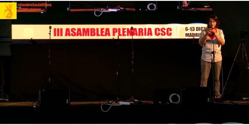 """La """"Cumbre Social per il Clima"""" lancia il Manifesto Climatico"""