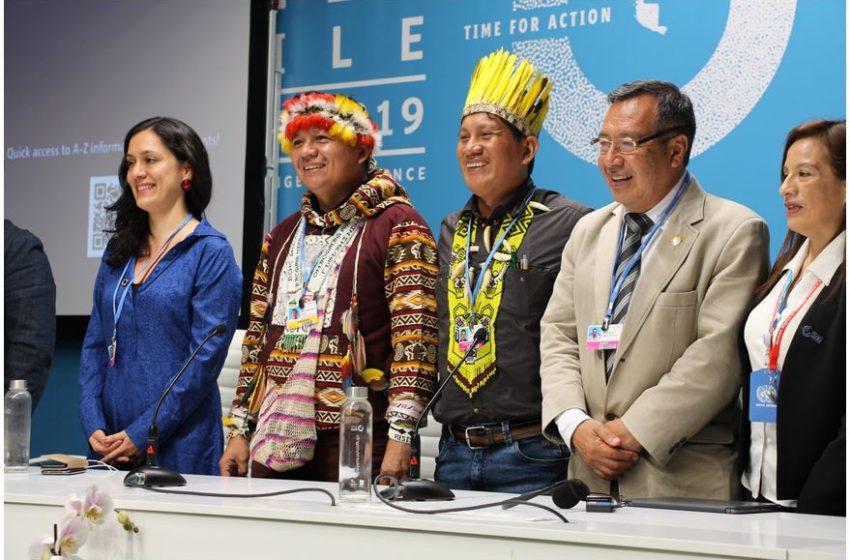Le popolazioni indigene alla COP25