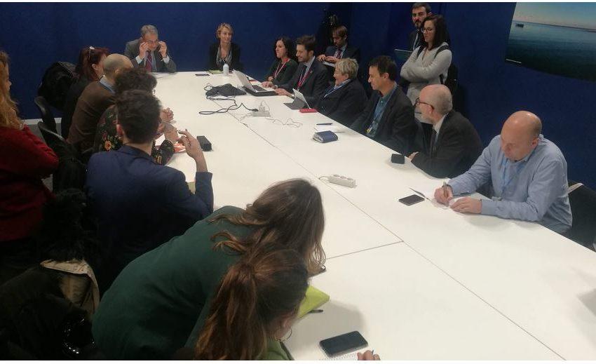 L'Italia annuncia una PreCOP a Milano con forte partecipazione giovanile