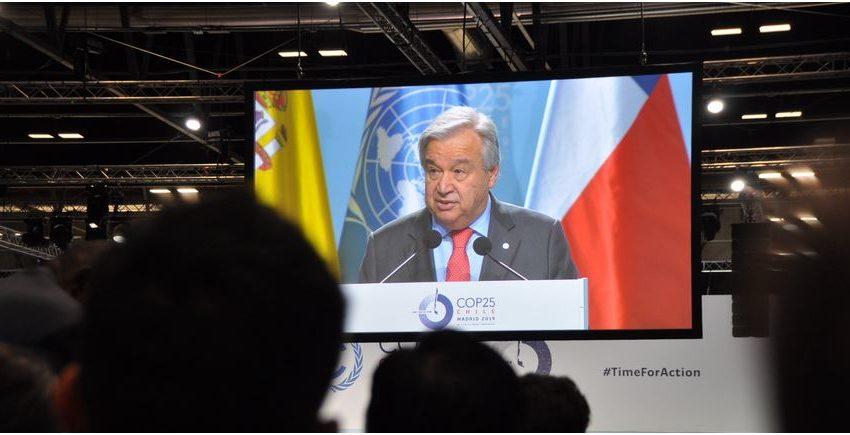COP25: Tempo per agire, siamo in emergenza climatica