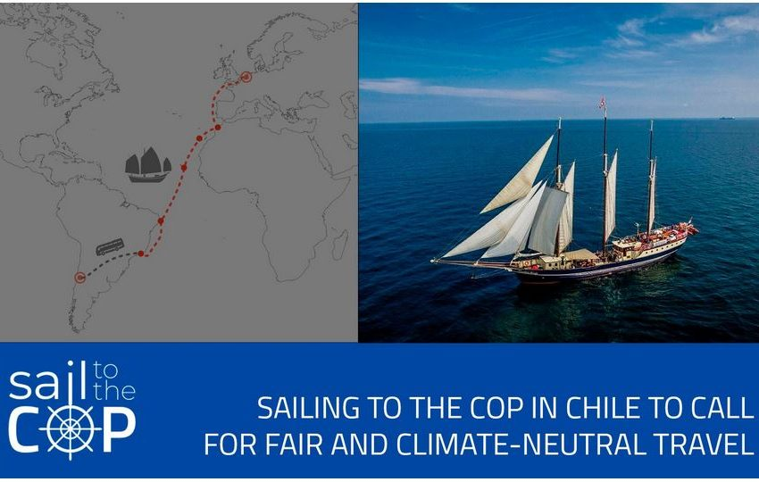 Sail to the COP: Come viaggiare in modo sostenibile