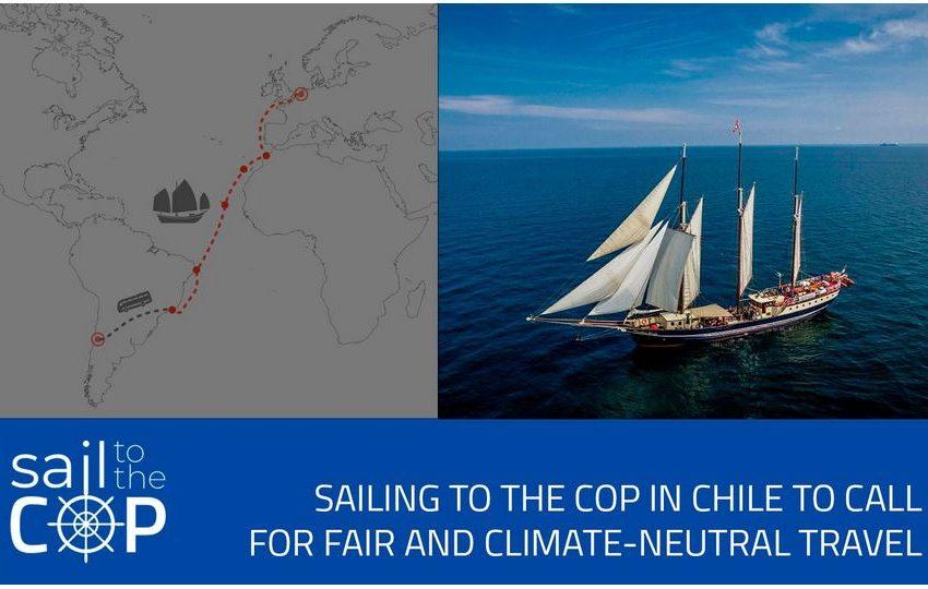 Sail to the COP: Come viaggiare in modo sostenibile
