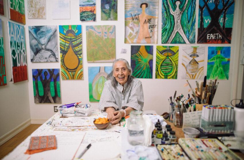 Luchita Hurtado: artista e attivista