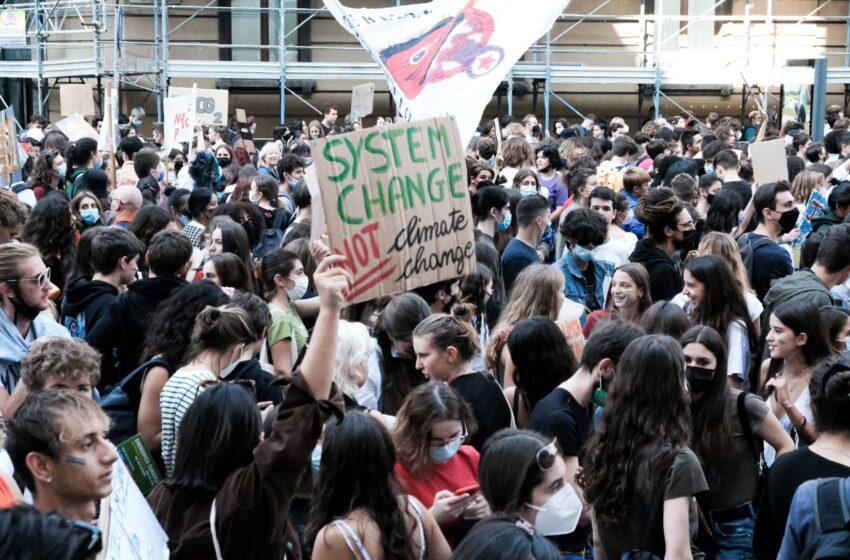 Noi giovani a Milano: giustizia climatica per un futuro verde